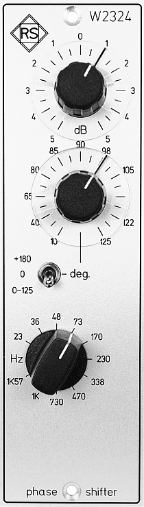 Mastering Filter W2324 Phase Shifter