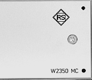 W2350 MC - pick up matching amplifier for moving coil systems