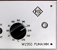 W2350 PUMA MM - active pick up matching amplifier for moving magnet pickup systems
