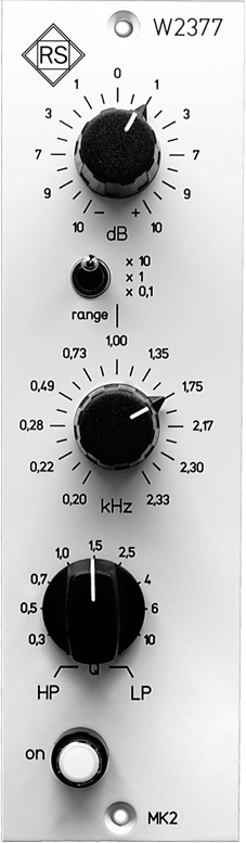 Mastering Filter W2377 MK2 5th anniversary