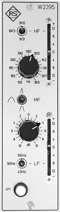 Professional Studio Equipment und Mastering Filter W2395
